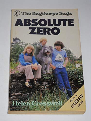 9780140311778: Absolute Zero (The Bagthorpe Saga: 2) (Puffin Books)