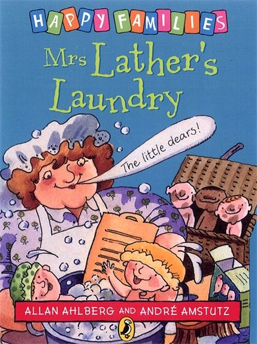 9780140312430: Mrs Lather's Laundry (Happy Families)