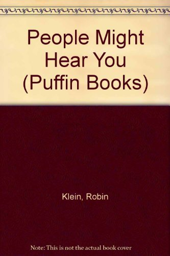 9780140315943: People Might Hear You (Puffin Books)