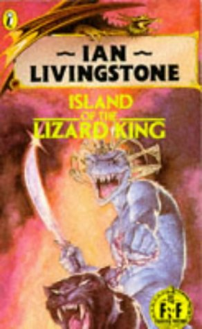Island of the Lizard King (Puffin Adventure: STEVE JACKSON' 'IAN