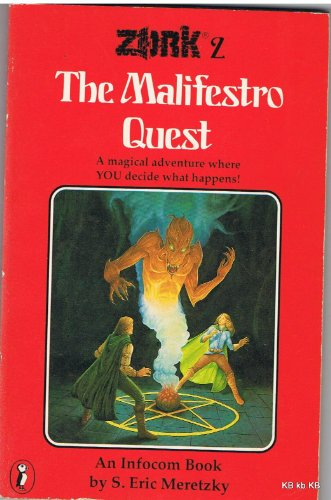 9780140317565: Zork 2: The Maligestro Quest