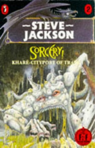 Khare: Cityport of Traps (Puffin Adventure Gamebooks): Jackson, Steve