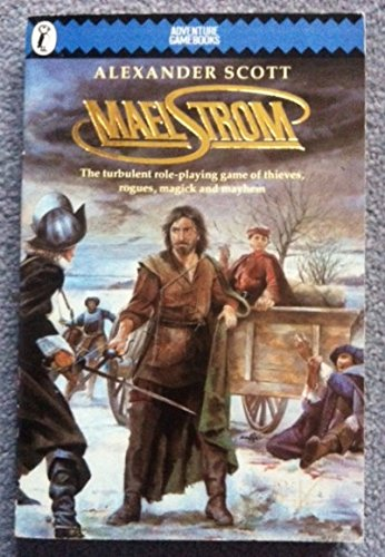 Maelstrom (Puffin Adventure Gamebooks): Scott, Alexander