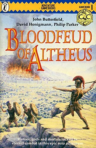 9780140318128: Blood Feud of Altheus (Puffin Adventure Gamebooks)