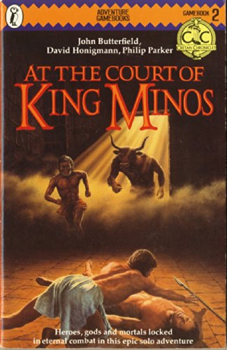9780140318135: At the Court of King Minos (Puffin Adventure Gamebooks)