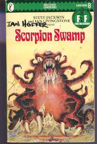 Scorpion Swamp (Puffin Adventure Gamebooks): Jackson, Steve; Livingstone,