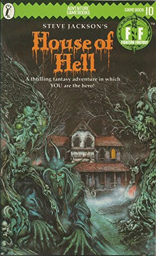 9780140318319: Fighting Fantasy 10 House Of Hell (Puffin Adventure Gamebooks)