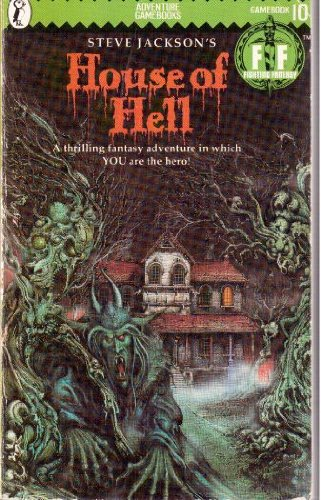 House of Hell (Puffin Adventure Gamebooks): Jackson, Steve and