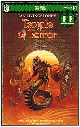 9780140318326: Temple of Terror (Puffin Adventure Gamebooks)