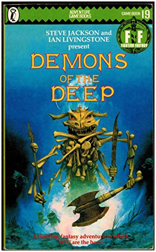9780140319217: Demons of the Deep (Puffin Adventure Gamebooks)