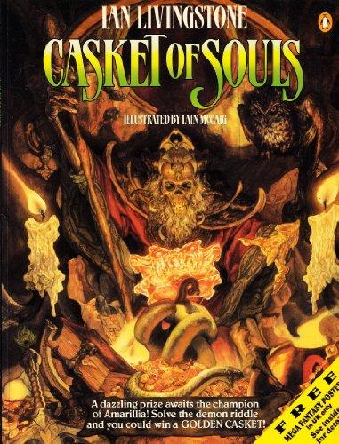 9780140319705: Casket of Souls (Puffin adventure gamebooks)