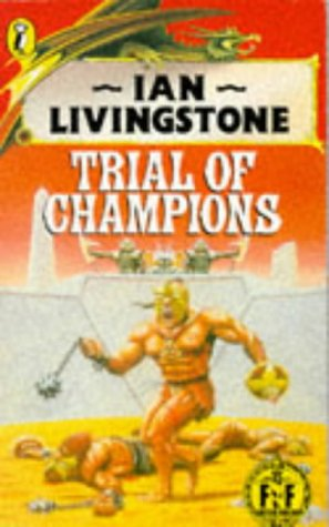 9780140320398: Trial of Champions (Puffin Adventure Gamebooks)