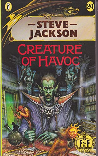9780140320404: Creature of Havoc: Fighting Fantasy Gamebook 24 (Puffin Adventure Gamebooks)
