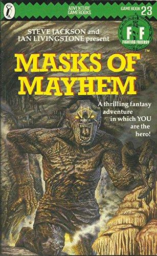 9780140321548: Masks of Mayhem (Puffin Adventure Gamebooks)