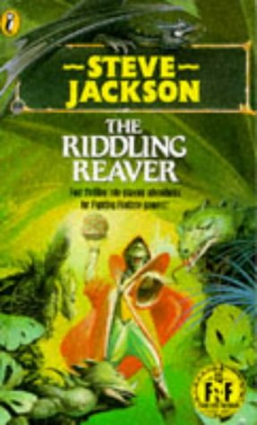 9780140321562: Riddling Reaver (Puffin Adventure Gamebooks)