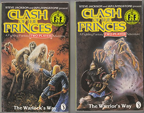 9780140321968: Clash of the Princes: Warrior's Way (Fighting Fantasy)