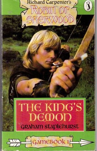 9780140322941: The King's Demon: Robin of Sherwood Game Books (Puffin Adventure Gamebooks) (No. 1)