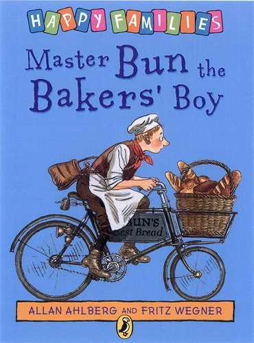 9780140323443: Happy Families Master Bun The Bakers Boy