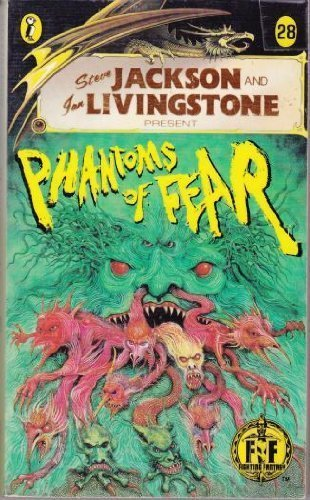 Phantoms of Fear (Puffin Adventure Gamebooks): Jackson, Steve and