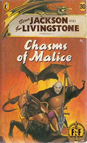 9780140324754: Chasms of Malice (Puffin Adventure Gamebooks)