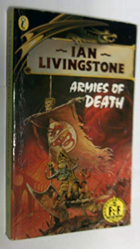 9780140324860: Armies of Death (Puffin Adventure Gamebooks)