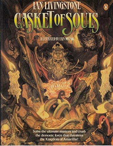 9780140326727: Livingstone Ian : Casket of Souls(Export) (Puffin adventure gamebooks)