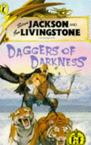 9780140326758: Daggers of Darkness (Puffin Adventure Gamebooks)