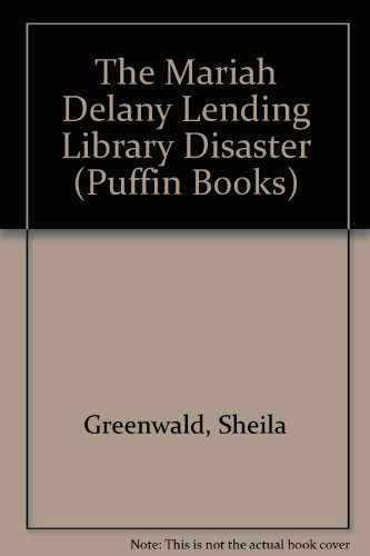 9780140328554: The Mariah Delany Lending Library Disaster (Puffin Books)