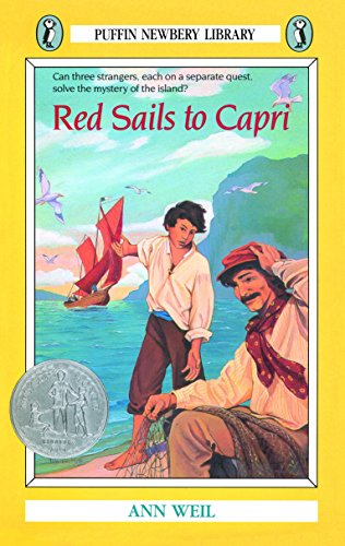 9780140328585: Red Sails to Capri (Puffin Newbery library)