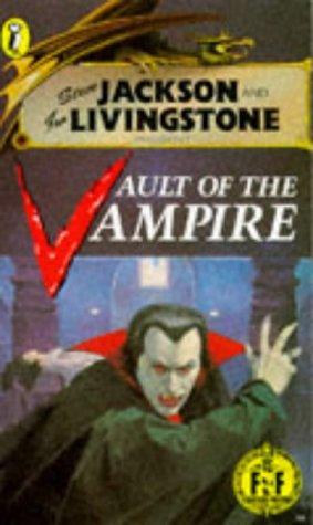 Vault of the Vampire (Puffin Adventure Gamebooks): Jackson, Steve; Livingstone, Ian
