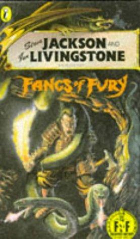 Fangs of Fury (Puffin Adventure Gamebooks): Steve Jackson