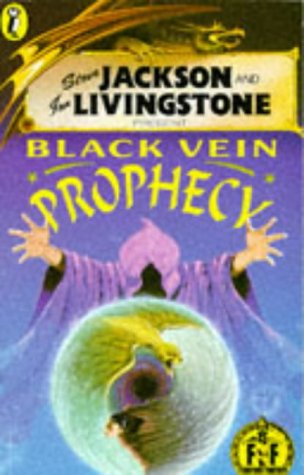9780140340570: Black Vein Prophecy (Puffin Adventure Gamebooks)