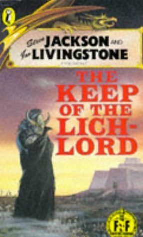 9780140341379: Keep of the Lich-lord (Puffin Adventure Gamebooks)