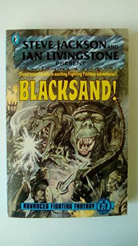 9780140343960: Blacksand! Advanced Fighting Fantasy