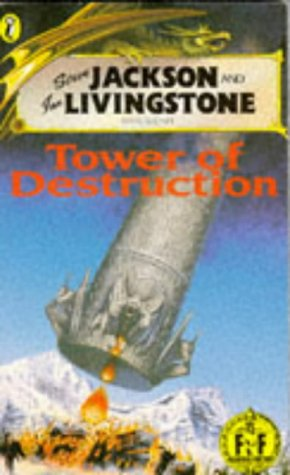 9780140344851: Tower of Destruction (Puffin Adventure Gamebooks)