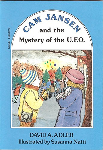 9780140346725: Adler & Natti : CAM Jansen and the Mystery of UFO'S