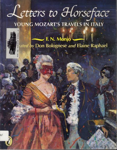 9780140348019: Letters to Horseface: Young Mozart's Travels in Italy