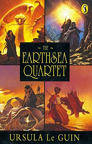 "9780140348033: Earthsea: The First Four Books: ""A Wizard Of Earthsea""; ""The Tombs of Atuan""; ""The Farthest Shore""; ""Tehanu"" (Puffin Books)"