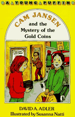 9780140348965: Adler & Natti : CAM Jansen and Mystery of Gold Coins