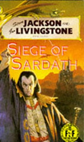 9780140349474: Siege of Sardath (Fighting Fantasy Gamebooks)