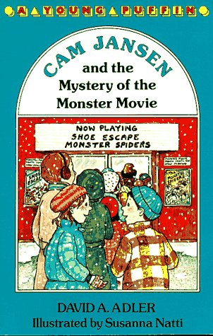 9780140360219: Cam Jansen: The Mystery of the Monster Movie #8
