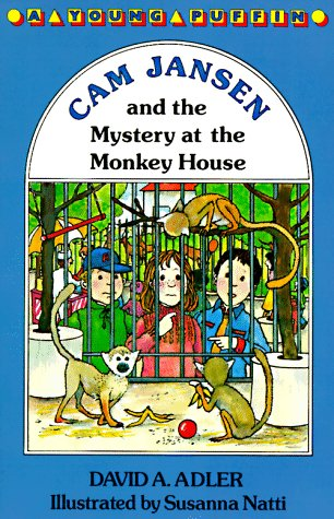 9780140360233: Cam Jansen: The Mystery of the Monkey House #10