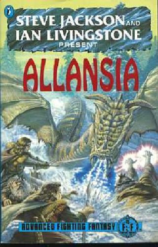 9780140360516: Allansia (Puffin Adventure Gamebooks)