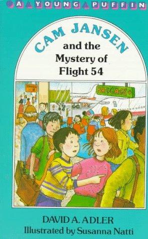 9780140361049: Cam Jansen and the Mystery of Flight 54 (Cam Jansen #12)