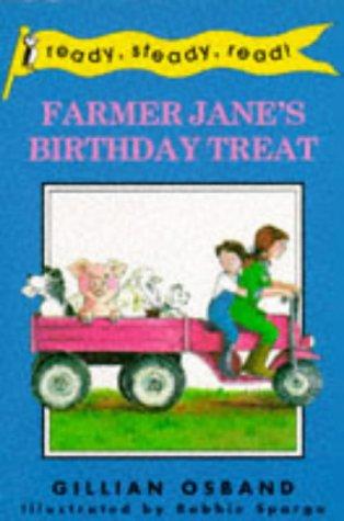 9780140361445: Farmer Jane's Birthday Treat (Ready Steady Read)