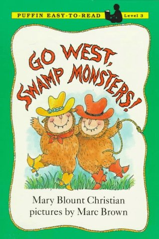 9780140362305: Go West, Swamp Monsters! (Puffin Easy-to-Read)