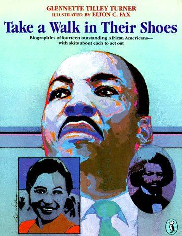 9780140362503: Take a Walk in Their Shoes: Biographies of 14 Outstanding African Americans