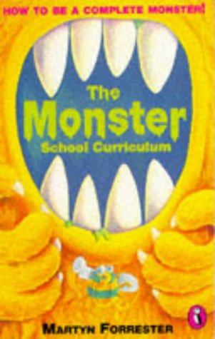 9780140363661: The Monster School Curriculum (Puffin jokes, games, puzzles)