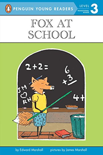 9780140365443: Fox at School: Level 3 (Puffin Easy-To-Read)