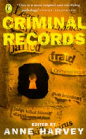 9780140365504: Criminal Records: An Anthology of Poems About Crime (Puffin poetry)